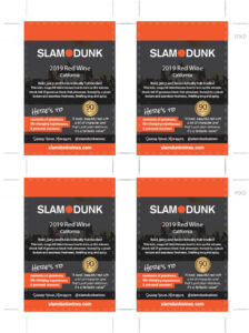 2019 Slam Dunk Shelf Talker