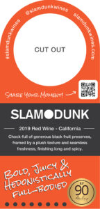 2019 Slam Dunk Neck Tag 3-Up