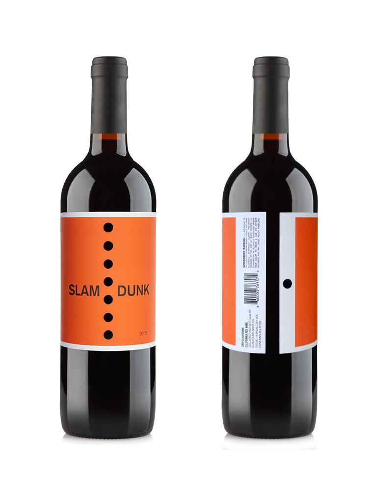 2019 Slam Dunk Wine Bottle Shots